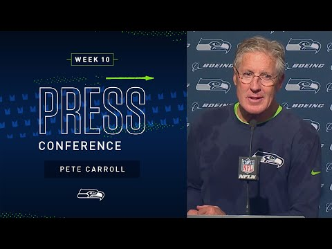 Pete Carroll Postgame Press Conference at 49ers | 2019 Seattle Seahawks