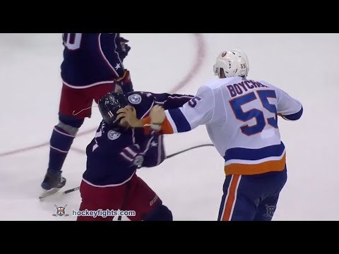 Matt Calvert vs. Johnny Boychuk