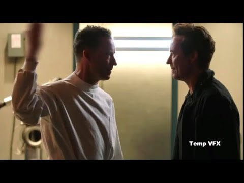 Eobard Thawne meets Harisson Wells Deleted Scene   Crisis on Earth-X Crossover