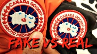 HOW TO SPOT A FAKE CANADA GOOSE GILET | FAKE VS REAL