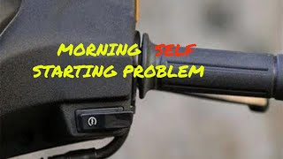 How To Solve Engine Starting Problem (Morning) In Activa 5g By Ayush Goel