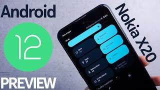 Android 12 Beta on Nokia X20 - What's New?