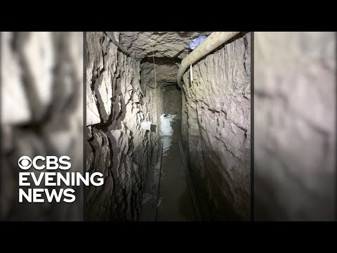 Record-length U.S.-Mexico drug tunnel discovered