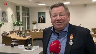Koninklijke onderscheiding voor Cees Steijger uit Zeewolde