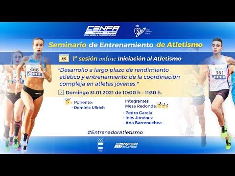 Seminario de Entrenamiento de Atletismo | 1ª Sesión | DOMINIC ULLRICH - Iniciación al Atletismo