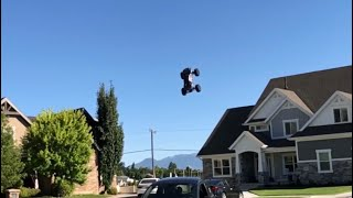 Traxxas Xmaxx huge jumps!