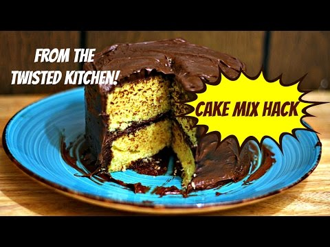 Video Cake Mix Hack (The Twisted Kitchen)