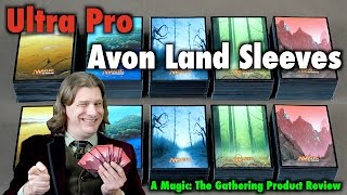 MTG - A Review of the John Avon Land Sleeves by Ultra Pro for Magic: The Gathering