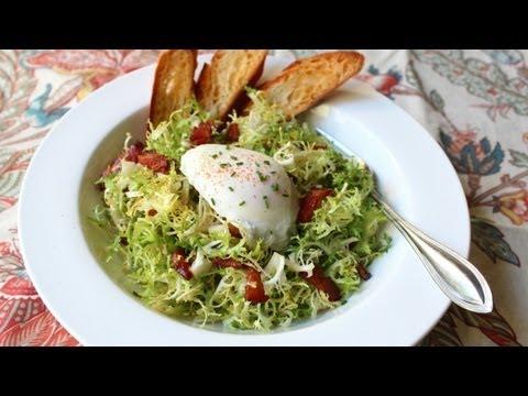 Salad Lyonnaise – Frisee Salad with Shallot Dijon Dressing
