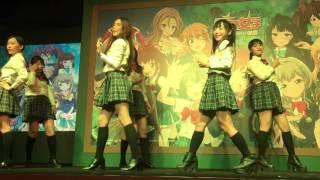 《戰鬥女子學園》發表會 制服美少女開場熱舞