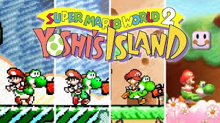 Super Mario World 2: Yoshi's Island - Versions Comparison