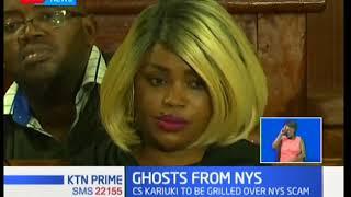 CS Cecily Kariuki set to appear before Public Accounts Committee regarding NYS saga