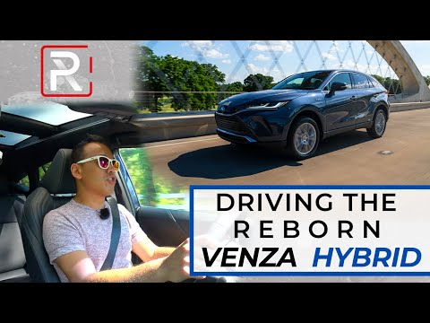 "The 2021 Toyota Venza Hybrid is a 40 MPG ""Lexus"" for a Reasonable Price"