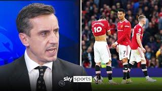 'That was a shocker!'   Neville gives damning verdict on Man Utd