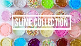Моя коллекция слаймов ч.2//my slime collection