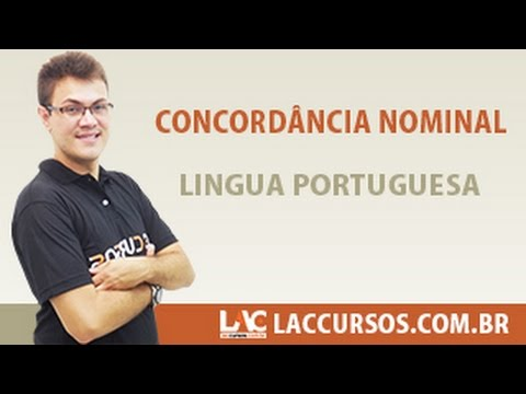 Aula 03/38 - Concordância Nominal - Língua Portuguesa - Sidney Martins