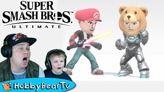 Super Smash Bros Ultimate Custom Character by HobbyBearTV