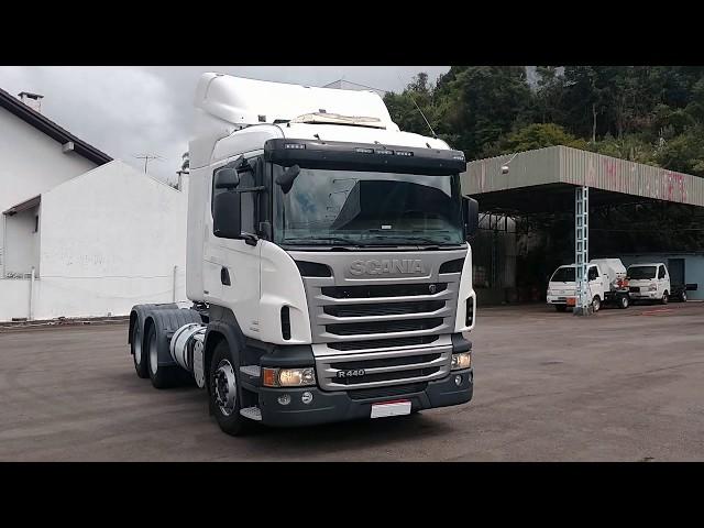 Vídeo do caminhão R440 6x4