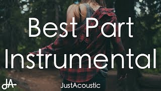 Best Part - Daniel Caesar Ft. H.E.R. (Acoustic Instrumental)