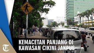 Kemacetan Panjang di Kawasan Cikini Jakarta Pusat