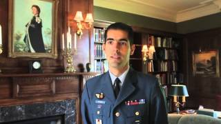 Maj. Carl Gauthier Designed And Built A Home Library