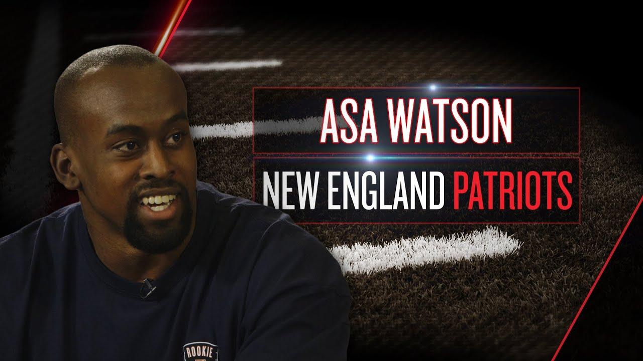 Asa Watson on Pats playbook, potential role, Tom Brady conversations (2014 NFLPA Rookie Premiere) thumbnail