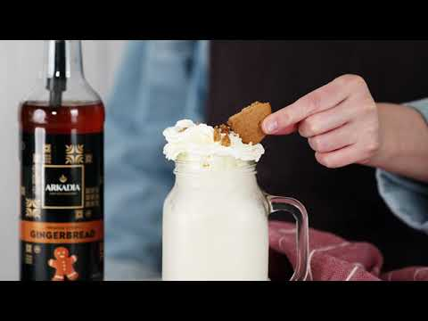 Gingerbread and White Chocolate Frappe Recipe