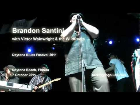"2011-10-07 Brandon Santini w Victor Wainwright ""Live at the Daytona Blues Festival"""
