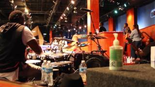 (Part 2)Garrison Brown on drums & City of Refuge band playing for Deon Kipping