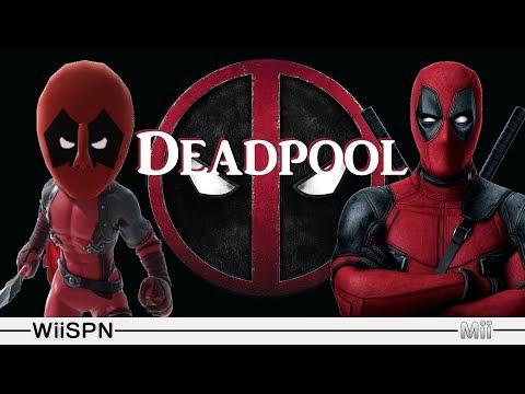 Mii Maker: How To Create Deadpool!