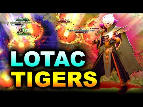 TIGERS vs LOTAC - WHAT A CRAZY GAME! - SEA KING'S CUP 2 DOTA 2