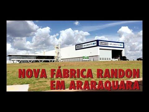 Nova fábrica Randon em Araraquara
