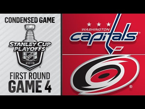 04/18/19 First Round, Gm4: Capitals @ Hurricanes