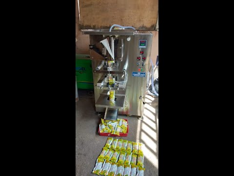 Rasana Juice Pouch Packing Machine