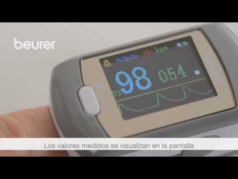 Quick Start Video del pulsioxímetro PO 80 de Beurer