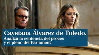 """Álvarez de Toledo, tras el pleno del Parlament: """"Artur Mas es el autor intelectual y político"""""""