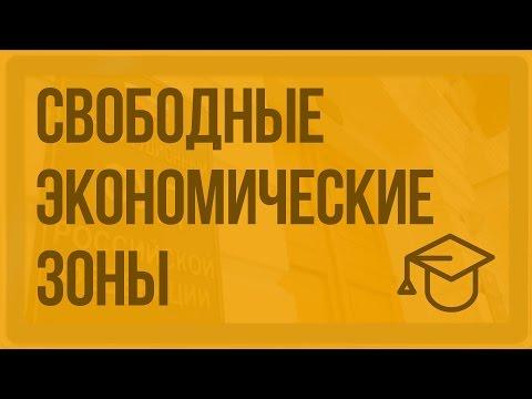 Свободные экономические зоны. Видеоурок по обществознанию 11 класс