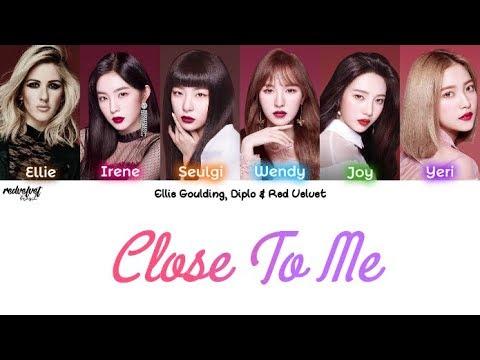 Ellie Goulding, Diplo & Red Velvet - Close To Me (Remix) [Legendado PT-BR/HAN/ROM] Color Coded