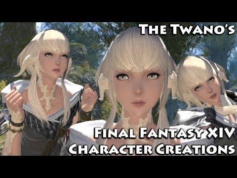 Final Fantasy XIV: Heavensward - Au Ra Character Creation Options