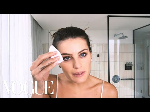 Brazilian Supermodel Isabeli Fontana Shows How to Prep Your Skin for Bed | Beauty Secrets | Vogue