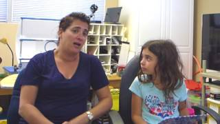 Maddie: Child's Problems w/ Reading, Headaches, Eye Tracking & Teaming Fixed by Vision Therapy
