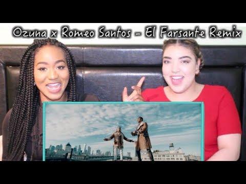 Ozuna x Romeo Santos - El Farsante Remix | REACTION