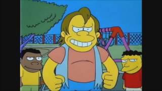 Bart Vs Nelson Muntz - The Simpsons