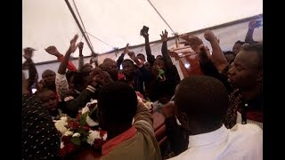 Rongo varsity students disrupt Sharon's burial - VIDEO