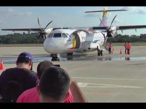 Aguachica recibe primer vuelo comercial luego de 30 años