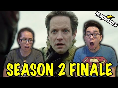Legends Of Tomorrow Season 2 FINALE REVERSE-FLASH VS BLACK FLASH REACTION & REVIEW