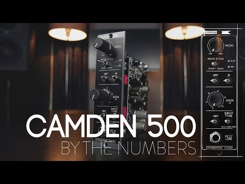 Camden 500 By The Numbers: The Cleanest & Most Transparent Mic Preamp On The Market?