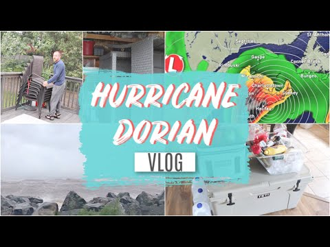 Hurricane Dorian Hits Nova Scotia! Prep, Footage and Aftermath