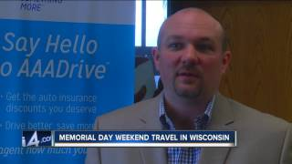 High volume of road traffic expected for Memorial Day weekend