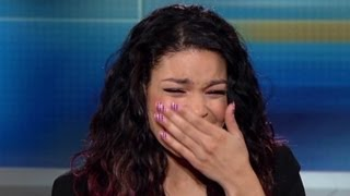 Jordin Sparks gets emotional about Whitney Houston